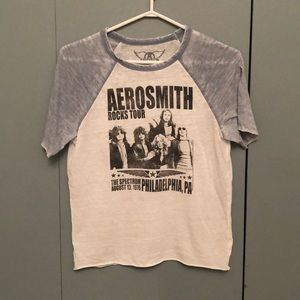 aerosmith rocks tour shirt